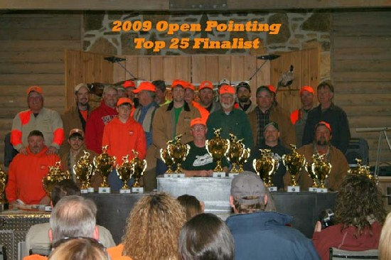 2009 Open Pointing Division Finalists